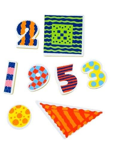 Alex 632W Küvetiçin Etiketler & Sayı Ve Şekiller Renkli Renkli